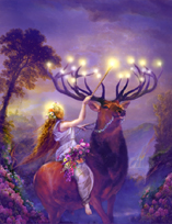 FAIRY - ELK AND FAIRY